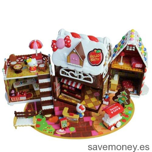 Casita de chocolate de Hello Kitty