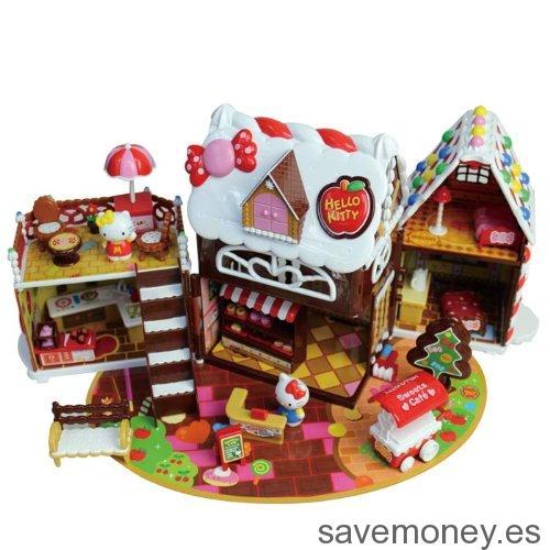 Casita de chocolate de Hello Kitty