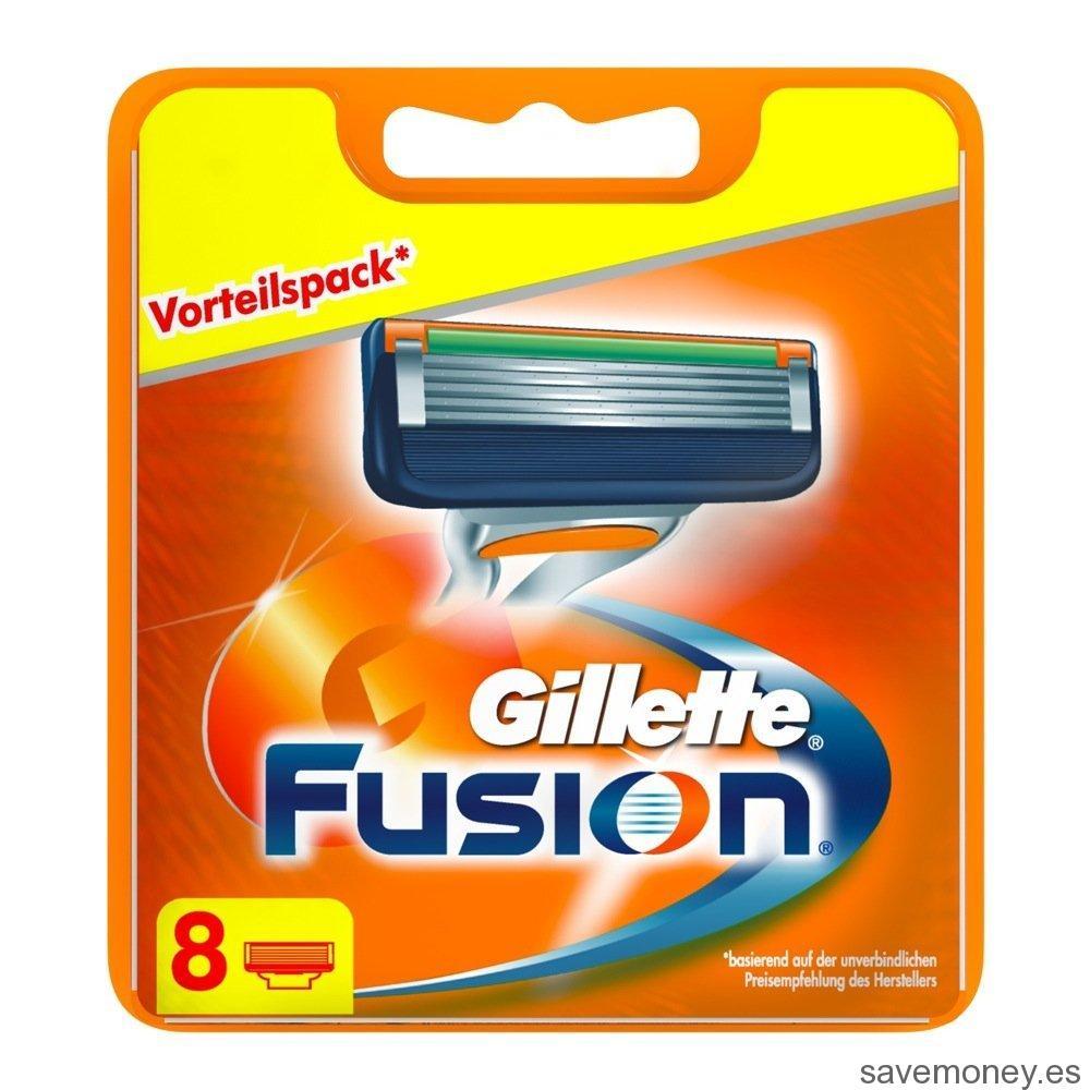Cuchillas de afeitar gillette fusion