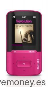 Reproductor de MP3 Philips ViBE de 4GB