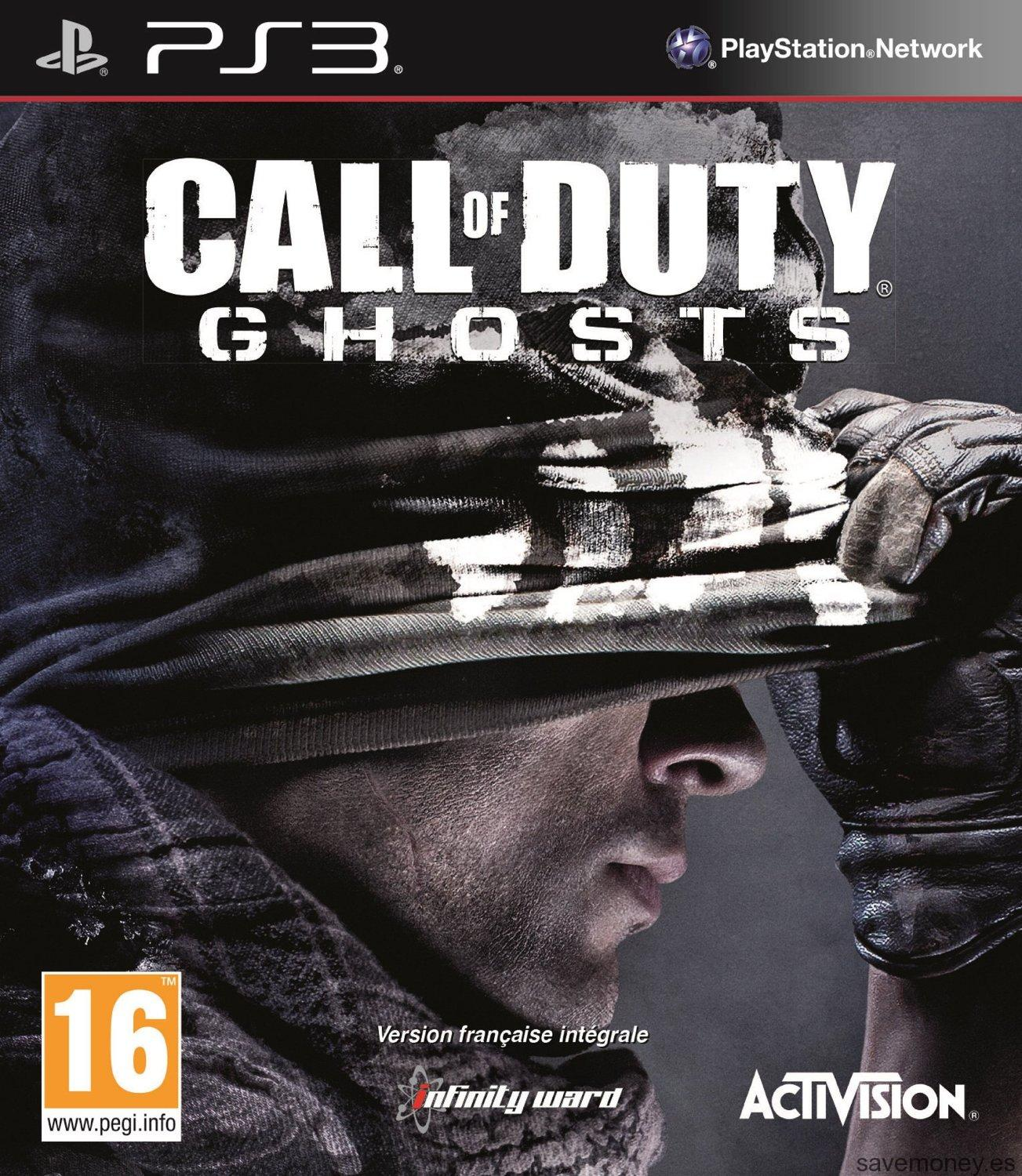 Videojuego Call of Duty Ghosts para PS3
