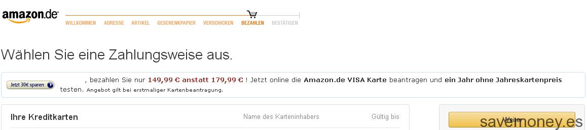 Cómo comprar en Amazon.de
