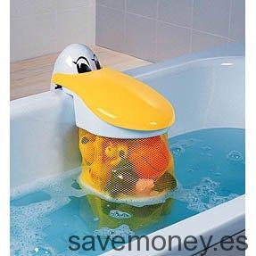 Bolsa pelícano para juguetes de baño Babysun Nursery