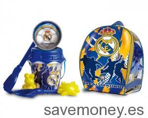 Conjunto de playa del Real Madrid C.F con mochila