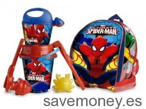 Conjunto para playa de Spiderman con mochila
