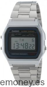 Reloj unisex metálico Casio A158WA1Q
