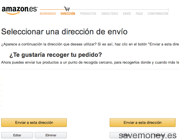 How to buy at Amazon.es
