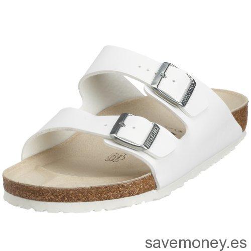 Zapatos unisex Birkenstock Arizona blancos