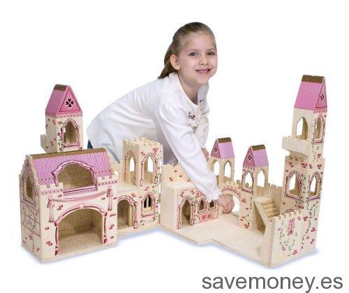Castillo de princesas plegable Melissa & Doug