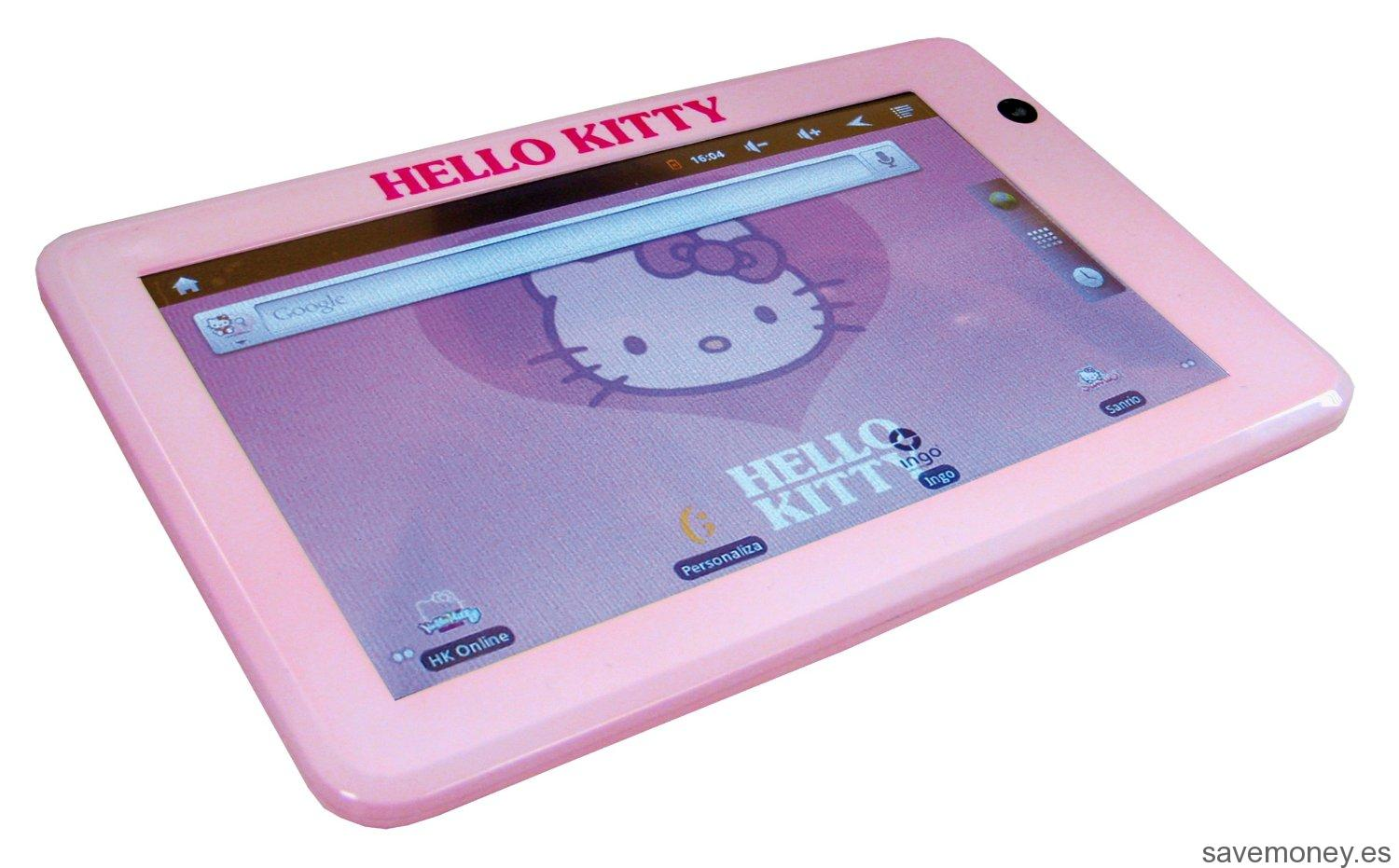 Tablet Hello Kitty Rosa 7″ de Ingo Devices