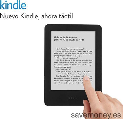 Nuevo Kindle táctil por sólo 79€