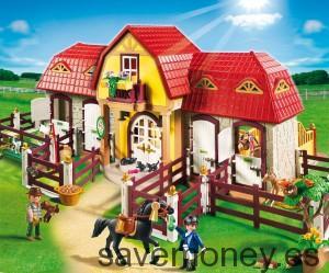 Granja: ponis + establo 5221 de Playmobil