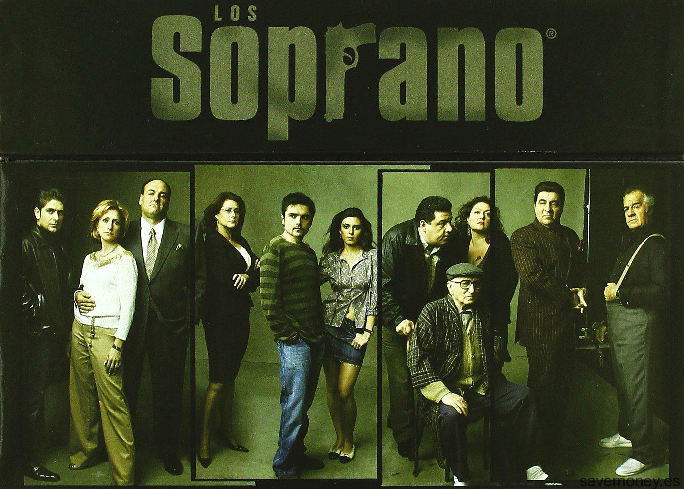 Los Soprano, serie completa en DVD