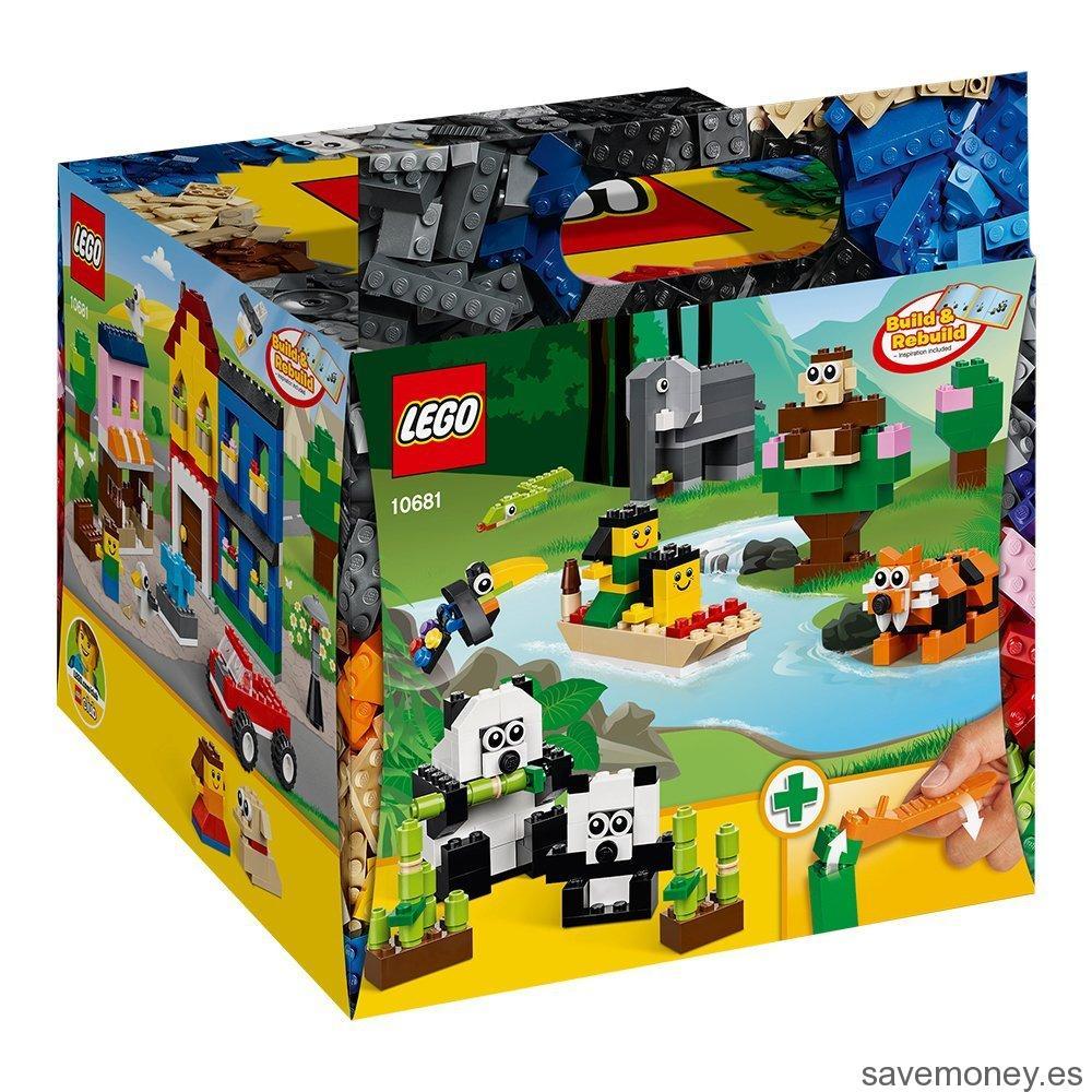 Cubo de construcción creativa de LEGO Bricks & more