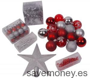 Lote de decoración navideña de 44 piezas de Feerie Lights