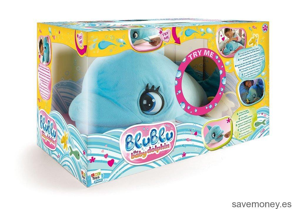 Peluche interactivo Delfín BluBlu de IMC Toys