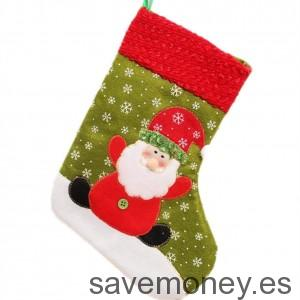 Calcetín de Papá Noel de Yasson Decoraciones