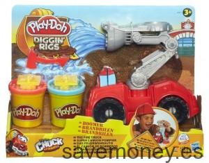 Camión de bomberos de Play-Doh