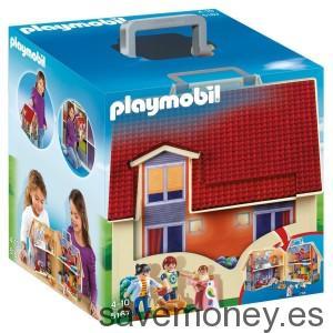 Casa de muñecas maletín de Playmobil