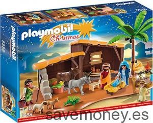 Gran escena de la Natividad de Playmobil