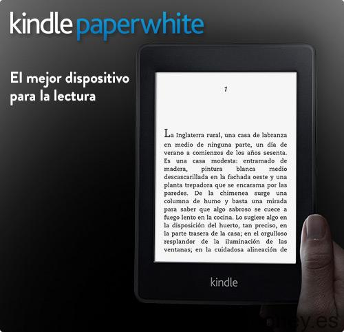 Regala esta Navidad Kindle Paperwhite o Kindle Paperwhite 3G
