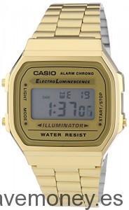 Reloj-Casio-Oro