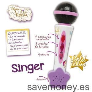 Violetta-Microfono-Singer