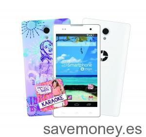Violetta-Smartphone