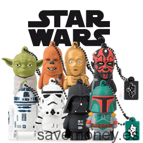 Coleccion Star Wars: Memorias USB