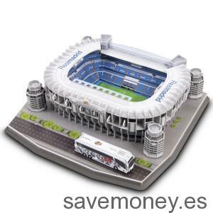 Puzzle  3D del Estadio Santiago Bernabéu de Real Madrid C. F.