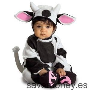 Disfraz-Vaca-Bebe