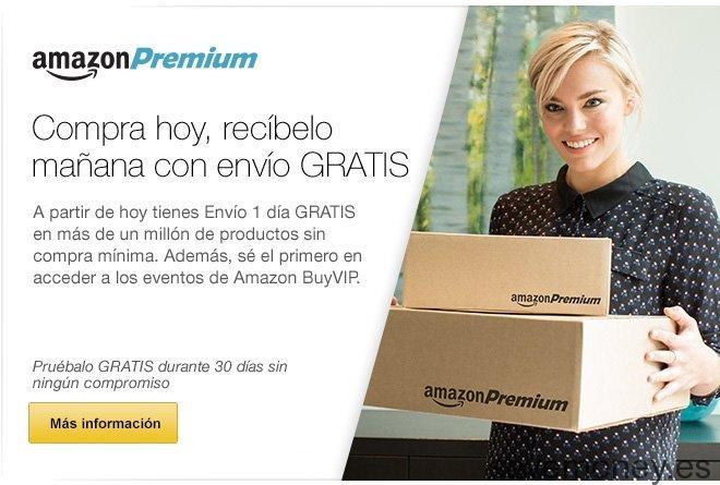 Amazon Premium: Compra hoy y recibe mañana