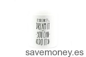 "Taza diseño de ""If you can dream it, you can do it"" de Mr. Wonderful"
