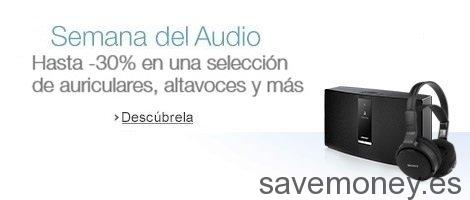 Ofertas Amazon en Audio