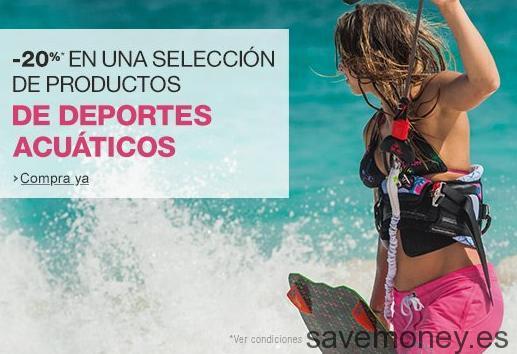 Cupon Descuento Amazon en Deportes Acuáticos