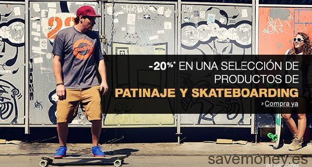 Cupon Descuento Amazon en Patinaje y Skateboarding