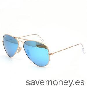 Rayban-Aviator-Gold-Azules