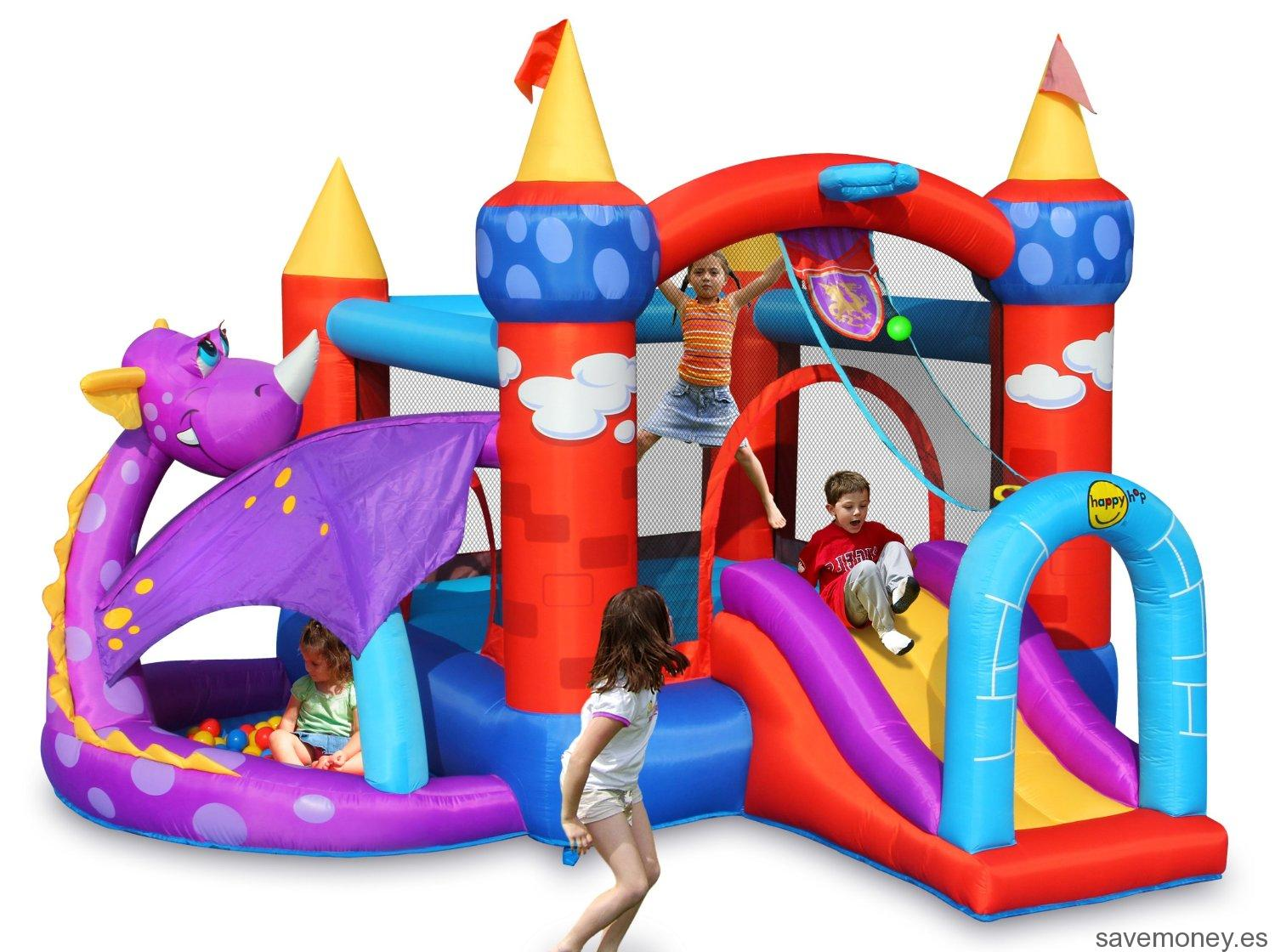 Castillo hinchable Dragon de PL Ociotrends