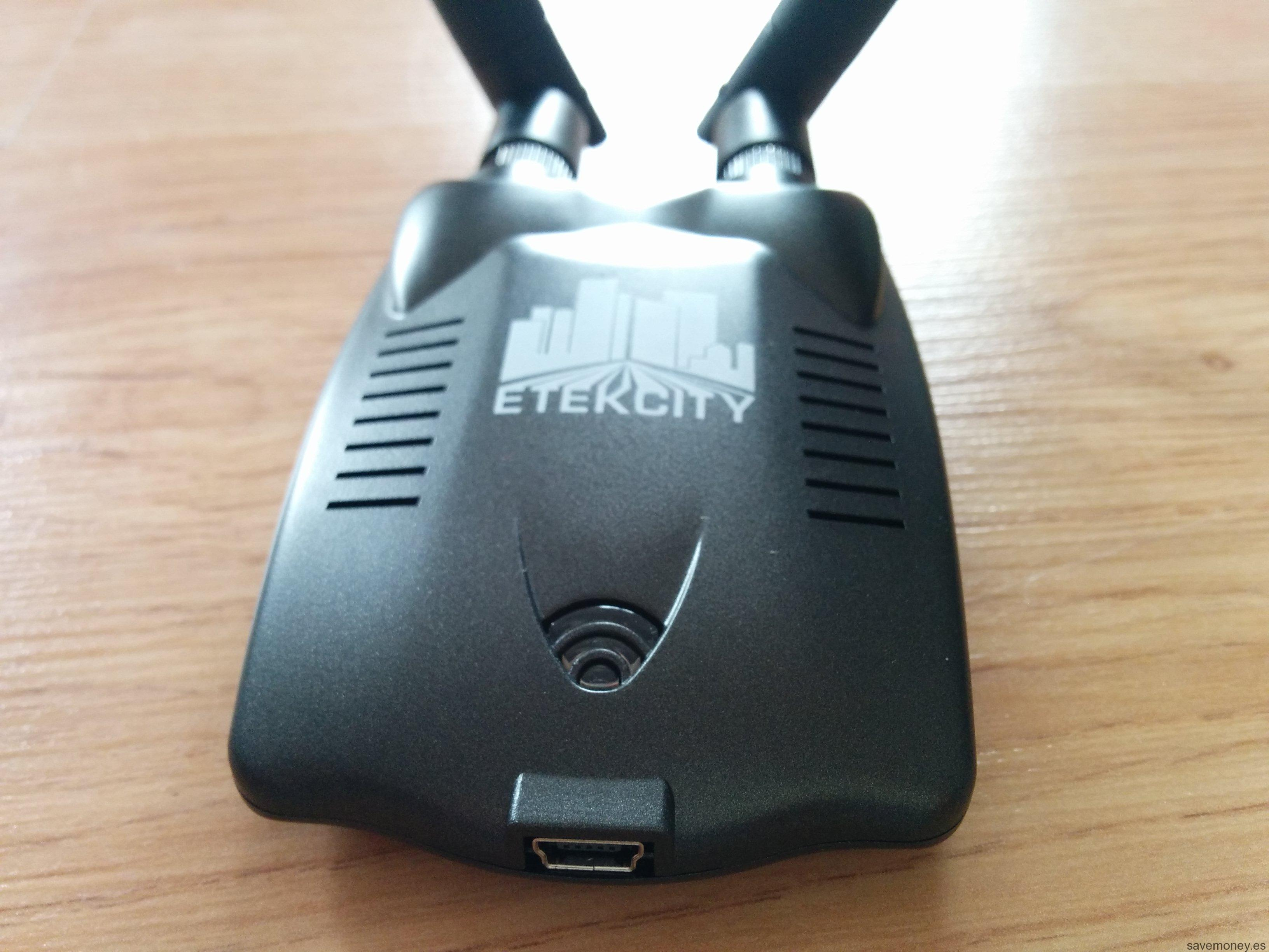 Unboxing Etekcity Dual Antenna Wireless USB Adapter