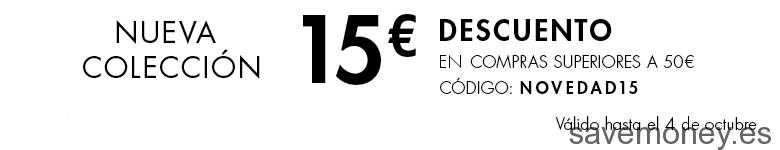 Cupón Descuento de 15€ en Moda