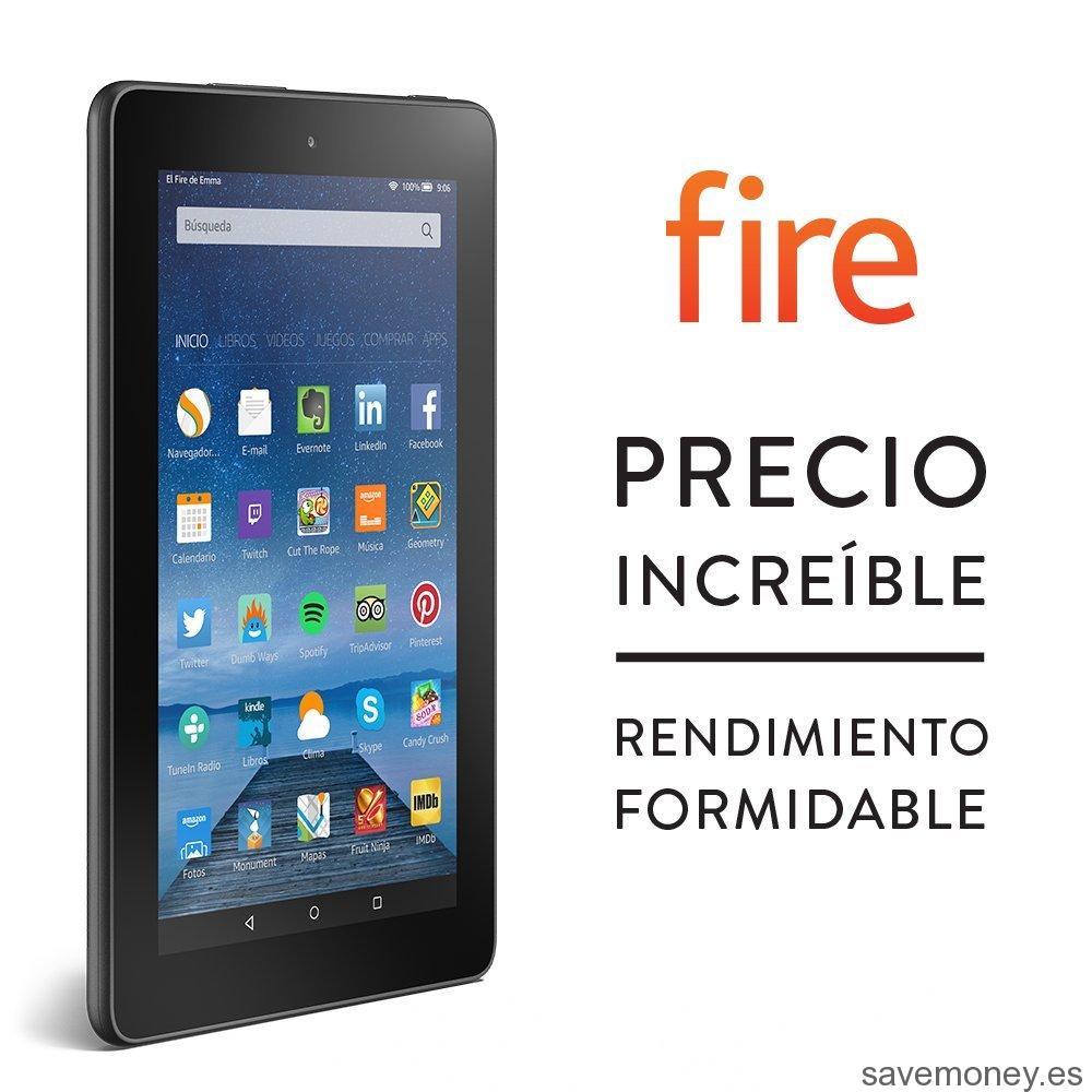 Tablet Low Cost de Amazon: Fire OS 5