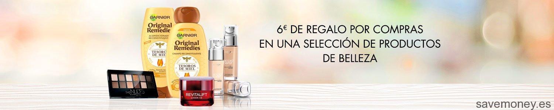 Promoción en Belleza y Cuidado Personal: Cheque Regalo de 6€