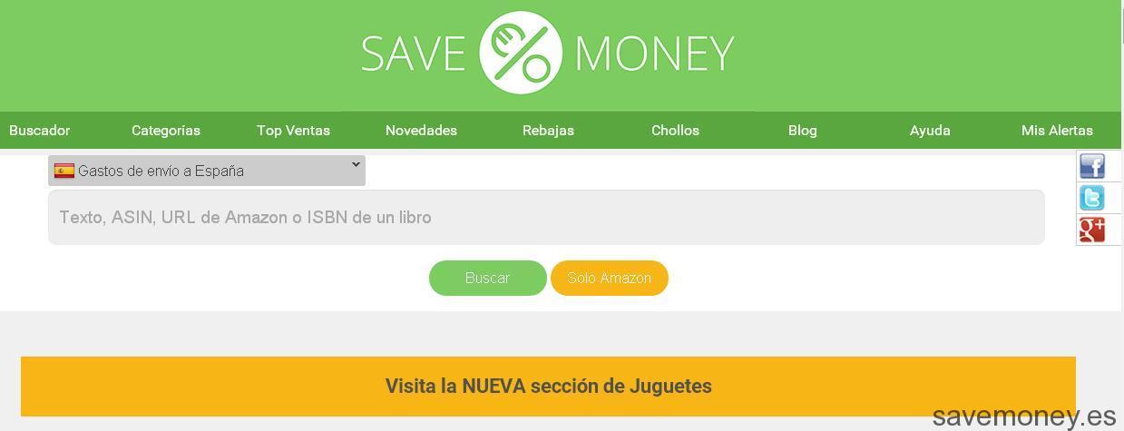 Juguetes: Nueva Sección en Savemoney.es (I)
