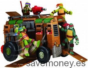 Autocaravana Shell Raiser de las Tortugas Ninja