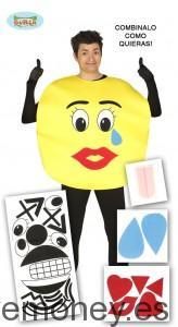 Disfraz-Emoticono-Cara