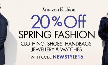 Cupones Descuento en Moda en Todas las tiendas Amazon