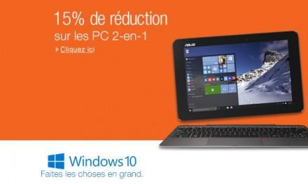 Cupón Descuento: 15% de descuento en PC 2 en 1