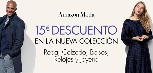 Cupón Descuento Amazon: 15€ de Descuento en Moda