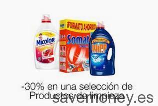 Ofertas Amazon: 30% de Descuento en Productos de Limpieza