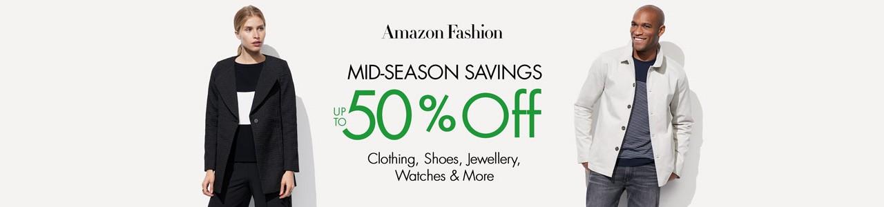 Ofertas Amazon: Descuentos de hasta el 50% en Moda